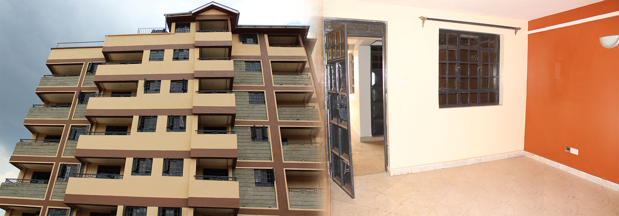 1 & 2 bedroom apartment to rent large windows JM Apartments